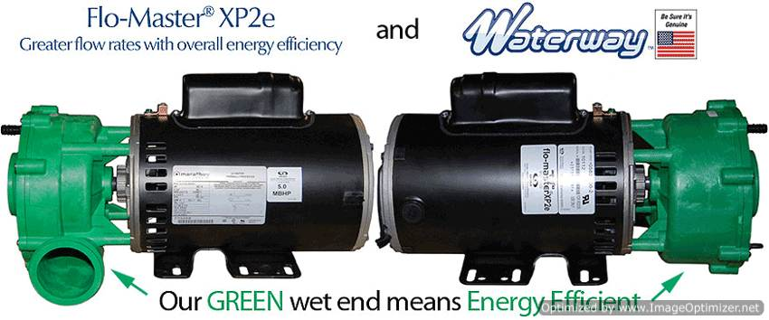 Energy Efficient Spa Pumps