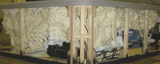 Spa Insulation