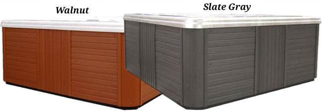 Synthetic Hot Tub Cabinets