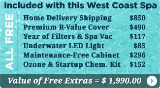 West Coast Spas Hot Tubs Free Items