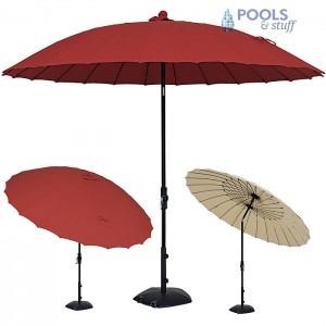 Canton Umbrella with Collar Tilt