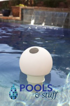 Solar Globe Chlorinator & Color Changing Pool Light