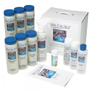 Standard Chlorine Spa Start-Up Kit