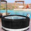Camaro Inflatable hot tub is portable