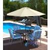 Cabo Auto-Open 9 Ft. Octagonal Market Umbrellas--Champagne