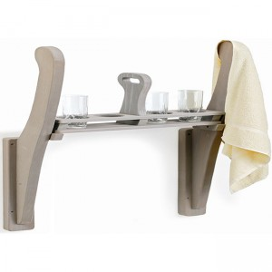 Towel Holder and Drink Caddy