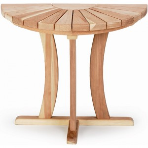 "Half Round Table 17"" H Coffee Table"