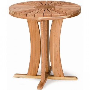 "Round Table 17"" H Coffee Table"