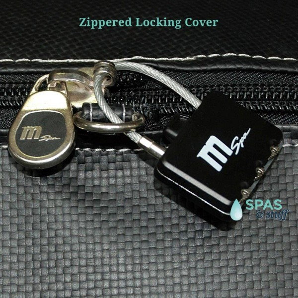 Camaro Portable Inflatable hot tub safety lock