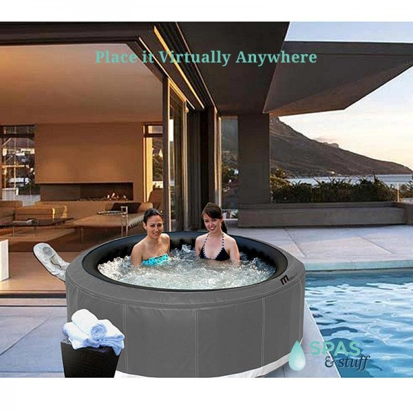 Castello Inflatable Hot Tub - Portable Relaxation