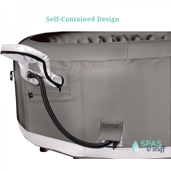 Castello Portable Inflatable Hot Tub - Self Contained