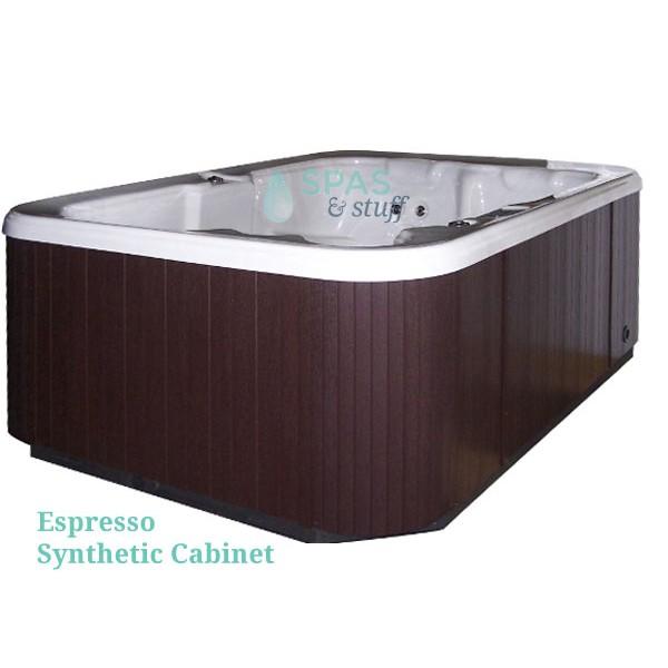 Espresso Synthetic Cabinet