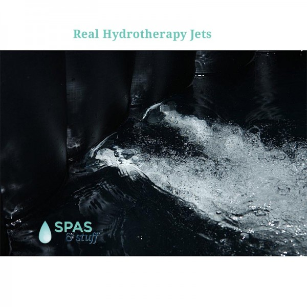 Real Water Jets in the Hydrotherapy Portable Inflatable Hot Tub
