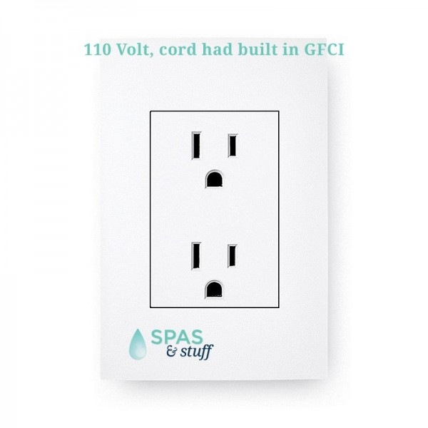 Plugs into Standard 110 Volt 15 amp outlet
