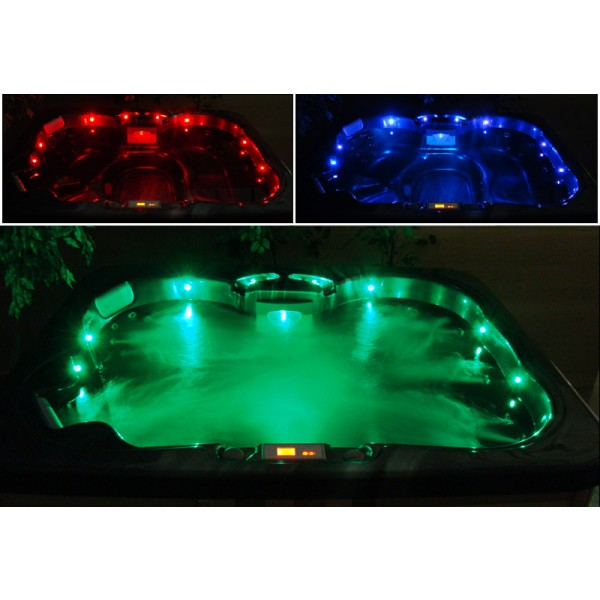Color Changing LED Lighting - Underwater and Perimeter