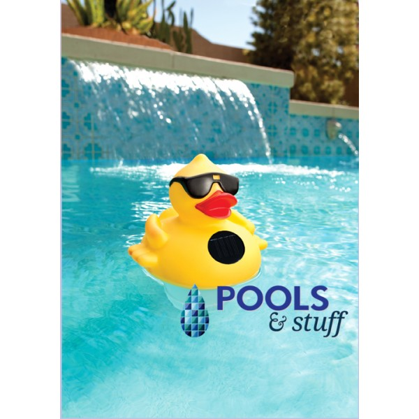 Derby Duck Solar Light Up Pool & Spa Chlorinator