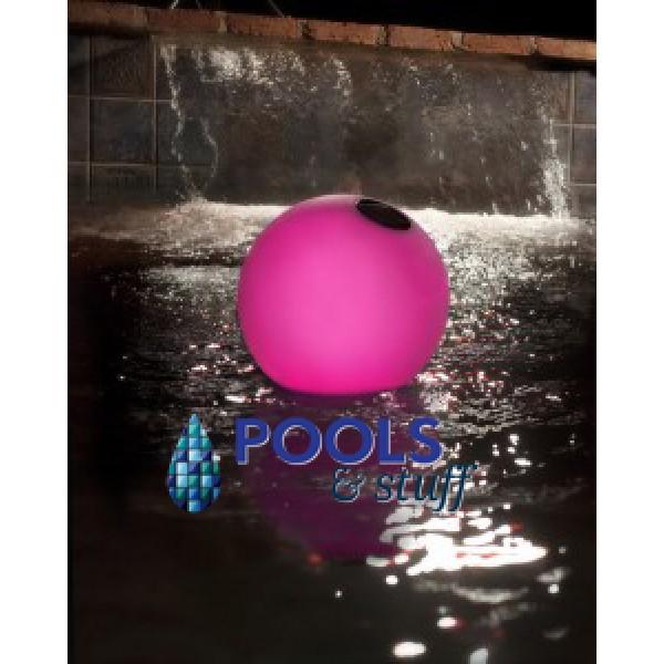 Solar Globe Chlorinator & Color Changing Pool Light