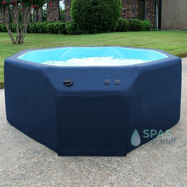 Navy Splash Tub