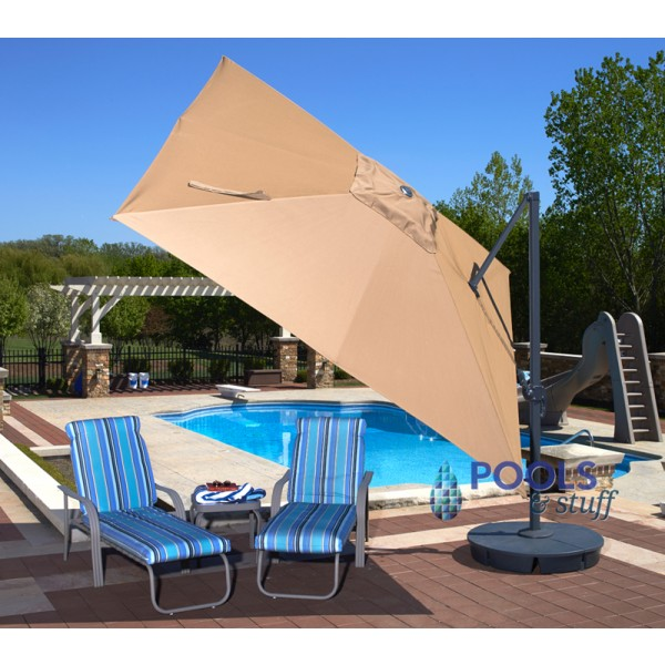 Santorini II Cantilever Umbrella