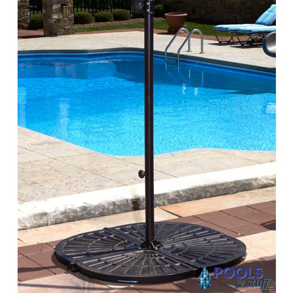Santorini Cantilever Umbrella - Deluxe Bronze Resin