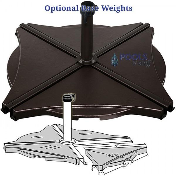 Tobago Cantilever Umbrella - Options