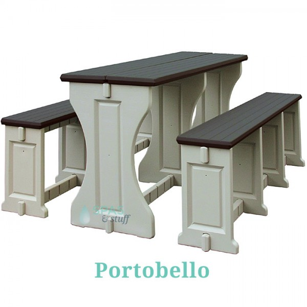 Picnic Table / Bench Set - Portobello