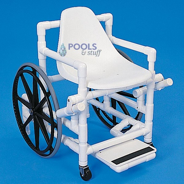 Pool Access Wheelchairs (Brakes Engaged)
