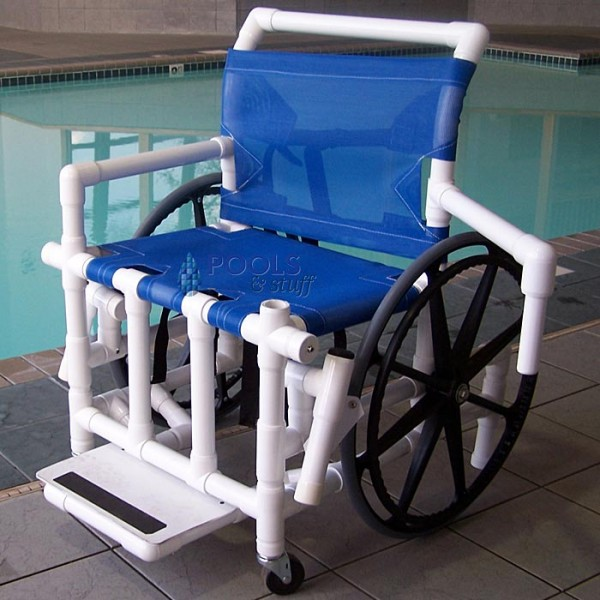 Pool Access Wheelchairs (Mesh Seat Option)