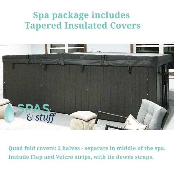 Insulated Covers Included