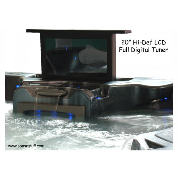 Waterproof 720P LCD TV