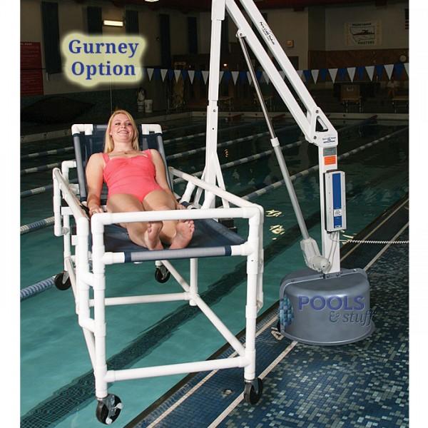 Stretcher Attachement Option, Revolution ADA Compliant Pool & Spa Lift