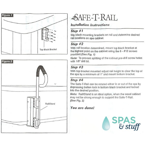 Safe-T-Rail Instructions