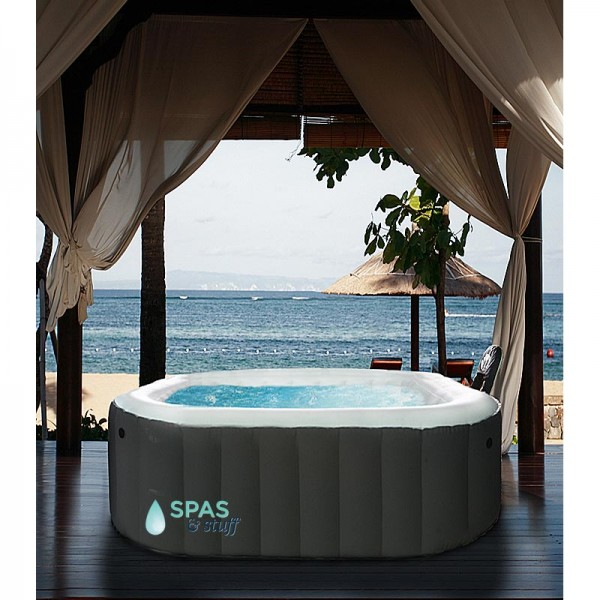 Alpine Portable Inflatable Hot Tub for Relaxation