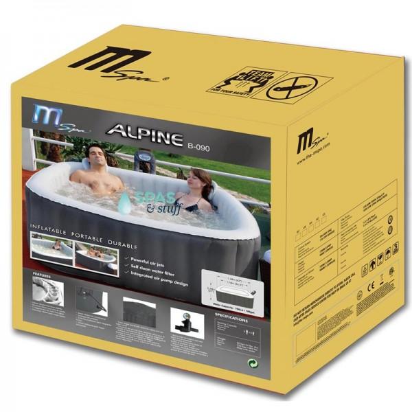 Alpine Portable Inflatable Hot Tub