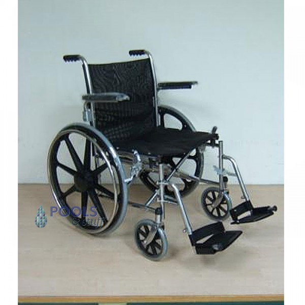 Collapsable 24 Inch Stainless Steel Aquatic Wheelchair