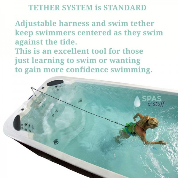 Swim Spa Tether System is also Included