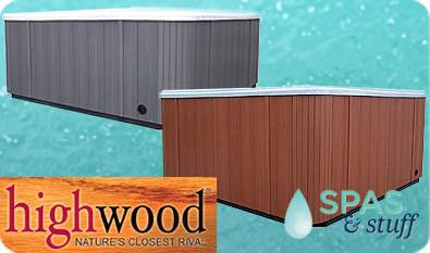 Highwood Synthetic Spa Cabinet
