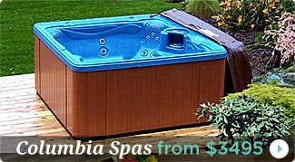 Columbia Spas Hot Tub Coupons