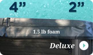 4-2 inch Deluxe spa covers