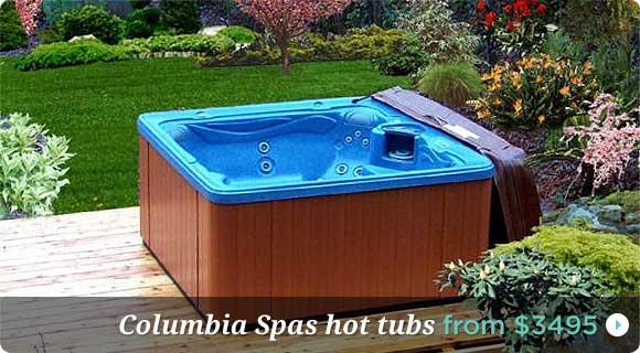 USA Hot Tubs For Sale Columbia Spas, Portable Hot Tubs ...